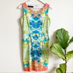 Nine West Colourful Summer Fitted Dress 6